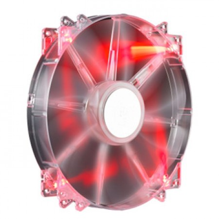 Cooler Master Case Fan Silent 200mm Red LED