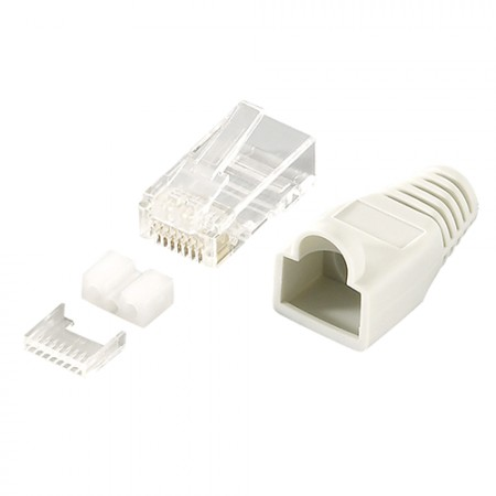 LogiLink CAT6 Connector RJ45 Shielded 100KOM MP0021