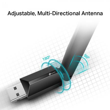 TP-Link Archer T2U Plus Wireless USB Dual Band Adapter