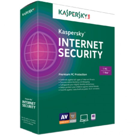 Kaspersky Internet Security 2015 MD Retail 1user/1year