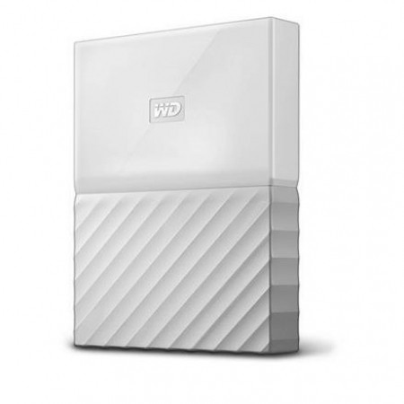"WD 1TB External HDD My Passport 2.5"" USB 3.0 White"