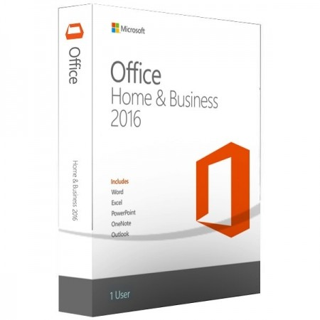 Microsoft Office Home and Business 2016 32/64 English DVD