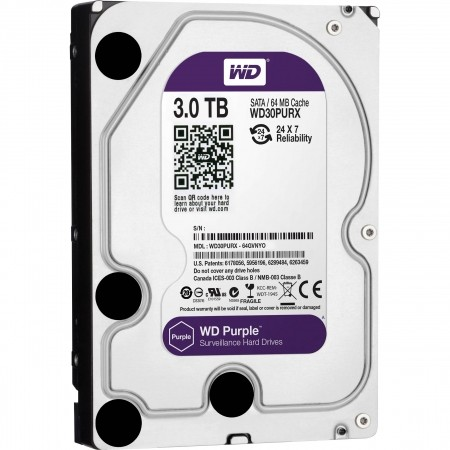 WD 3TB SATA3 HDD Purple
