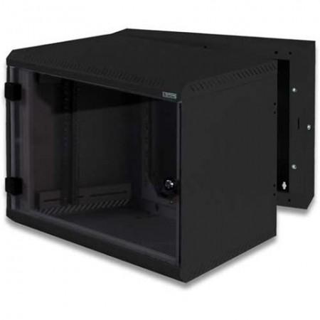 LAN ormar zidni 6U/500mm, RBA-06-AS5-BAX-A1, crni