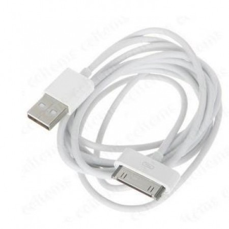 USB Cable for iPad, iPod and iPhone 4/4S 1m Bulk