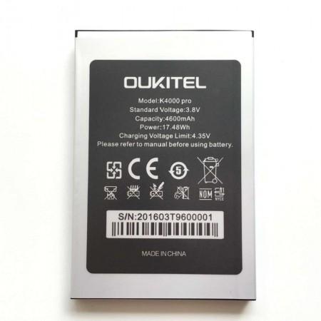 Spare parts - Oukitel K4000 Pro Battery