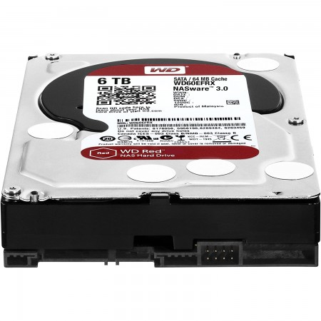 WD 6TB SATA3 HDD Red NAS