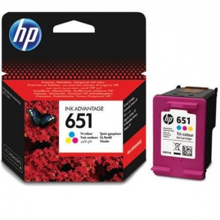 HP Cartridge C2P11AE No.651 Color