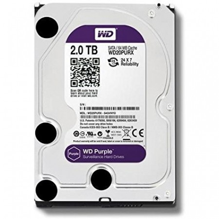 WD 2TB SATA3 HDD Purple