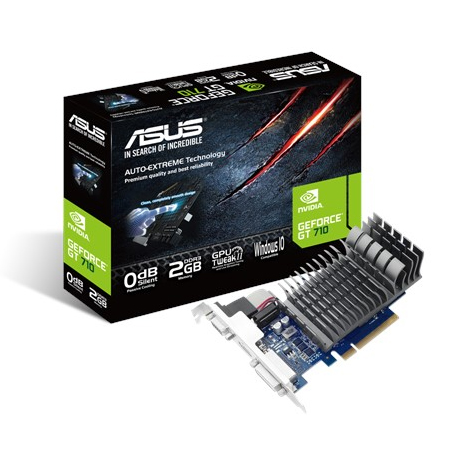 ASUS NVIDIA GeForce 710-2-SL