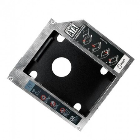 Logilink Caddy za notebook DVD to HDD/SSD 12.7mm AD0016