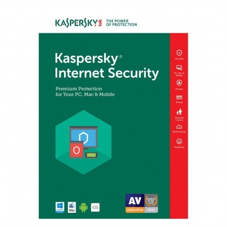 Kaspersky Internet Security 3user/1year