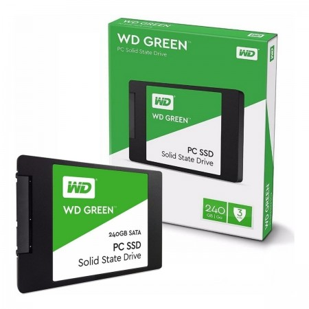"WD SSD 240GB 2.5"" Green"