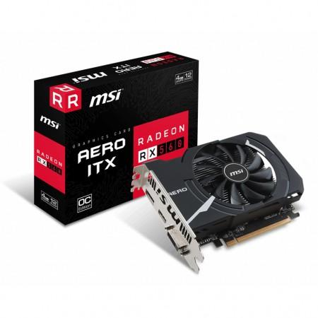 MSI AMD Radeon RX 560 AERO ITX 4G OC