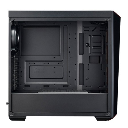 Cooler Master Case MasterBox Lite 5 Black Acrylic side