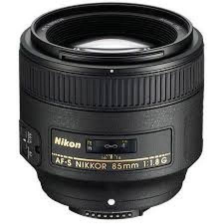 Nikkor objektiv 85mm F/1.4D AF