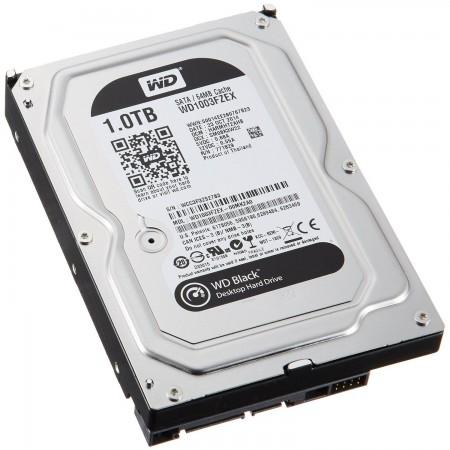 WD 1TB SATA3 HDD Black