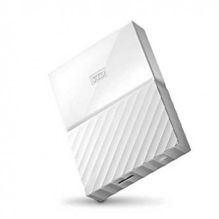 "WD 3TB External HDD My Passport 2.5"" USB 3.0 White"