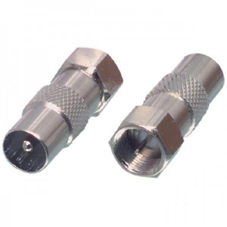 Adapter F-connector - coax M Adapter- FC-029