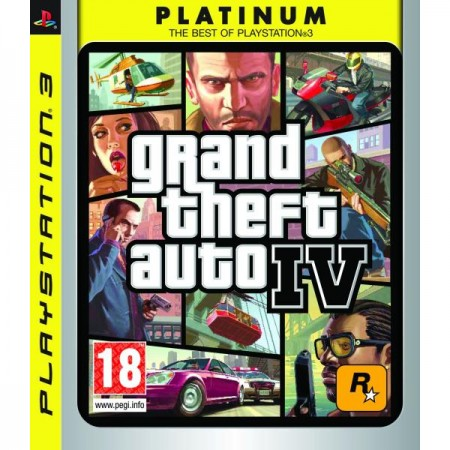 Grand Theft Auto IV - Platinum /PS3