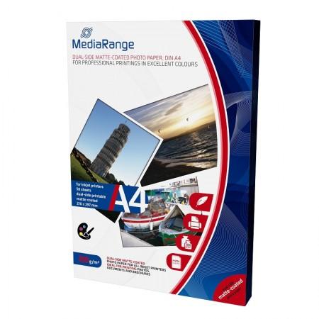 MediaRange Papir A4 inkjet (Dvostrana Mat podloga), 200g 50/1 - MRINK102