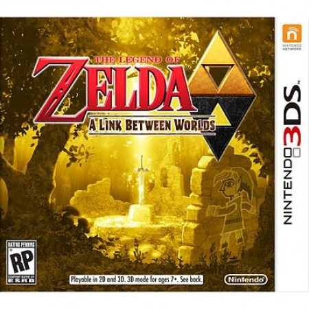 Zelda - A Link Between Worlds /3DS