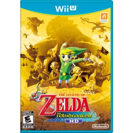 Legend Of Zelda windwaker /Wii U