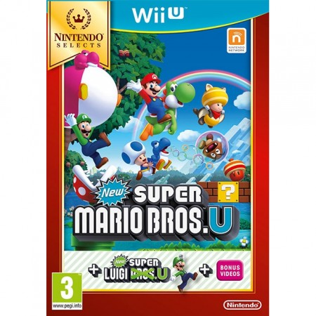 New Super Mario Bros and New Super Luigi /WiiU