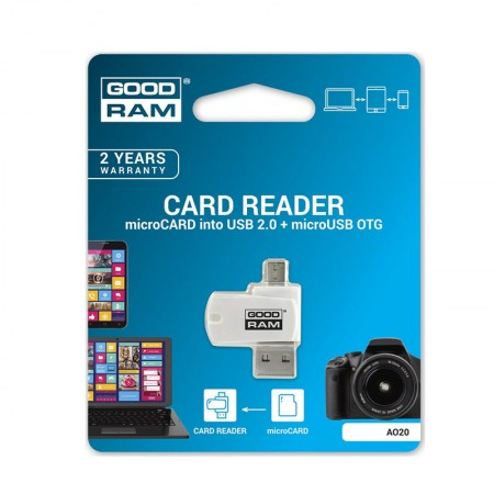 GOODRAM OTG Micro SD USB Card Reader