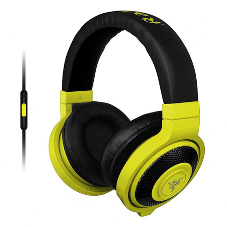 Razer slušalice Kraken Mobile Neon Yellow