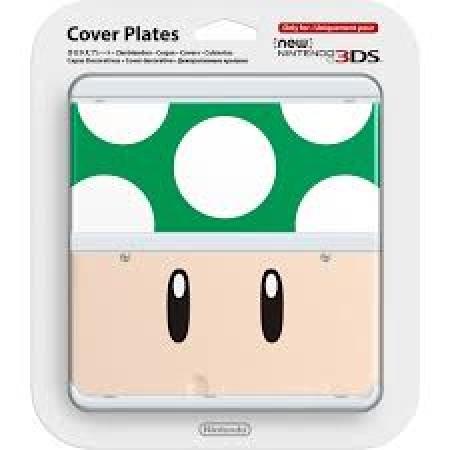Nintendo New 3DS Coverplate - 008 1UP Mashroom