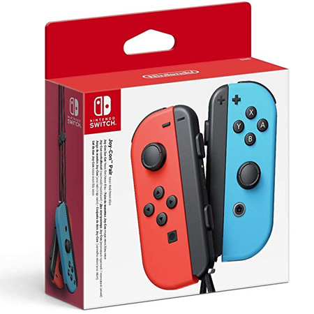 Nintendo Switch Joy-Con Pair Neon Red + Neon Blue