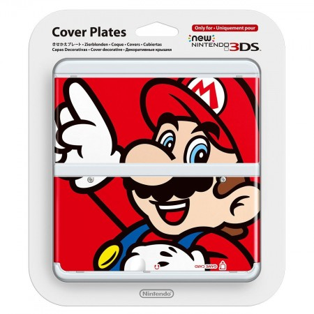 Nintendo New 3DS Coverplate - 001 Mario
