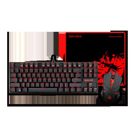 ReDragon - Tastatura + Miš + Podloga - Combo K552+M601+P001