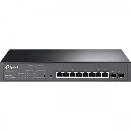 TP-Link T2500G-10TS(TL-SG3210) JetStream 8-Port 10/100/1000 Mbps + 2 SFP Slots L2 Managed Switch