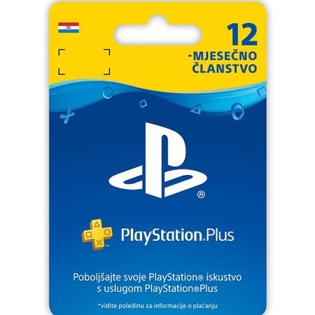 Psn Plus Card 12 Mjeseci Hrvatska /Digital Code