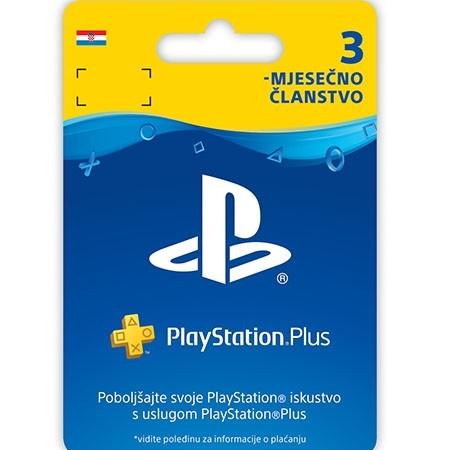 Psn Plus Card 3 Mjeseca Hrvatska /Digital Code