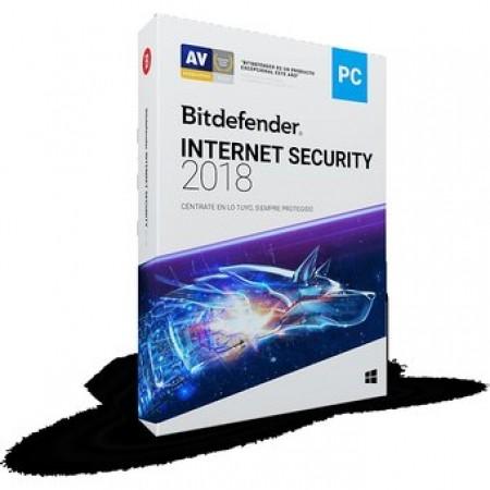 BitDefender Internet Security 2018 1y/3u