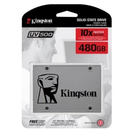 "Kingston SSD 480GB 2.5"" UV500"