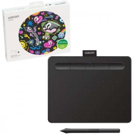 Wacom Grafički Tablet Intuos S Bluetooth Black