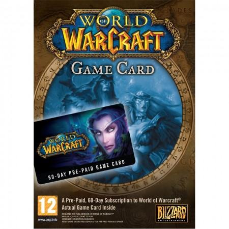 World of Warcraft Prepaid Card 60 Days /PC