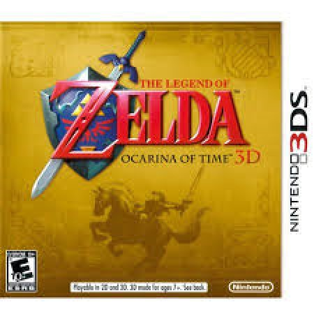 Zelda Ocarina Of Time /3DS
