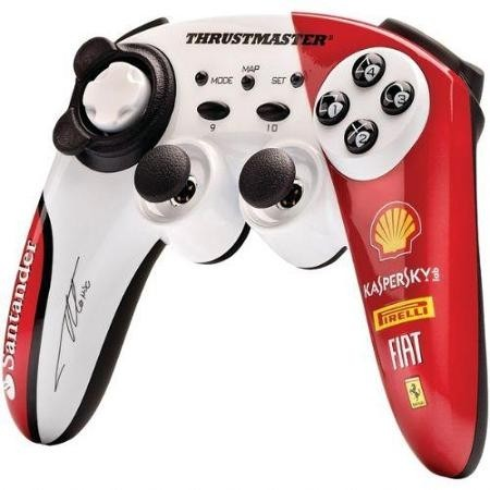 ThrustMaster Wireless Gamepad Italia F150 Alonso Limited Editon