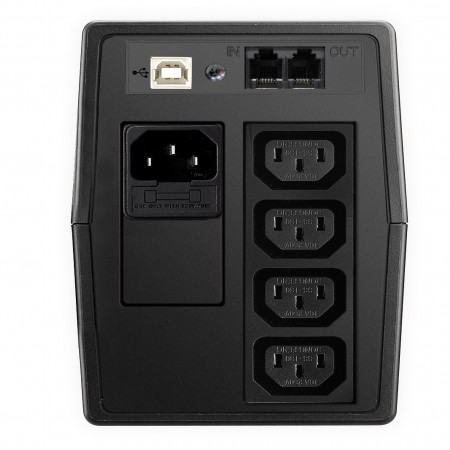 Mustek PowerMust 800 LCD Line Interactive UPS IEC
