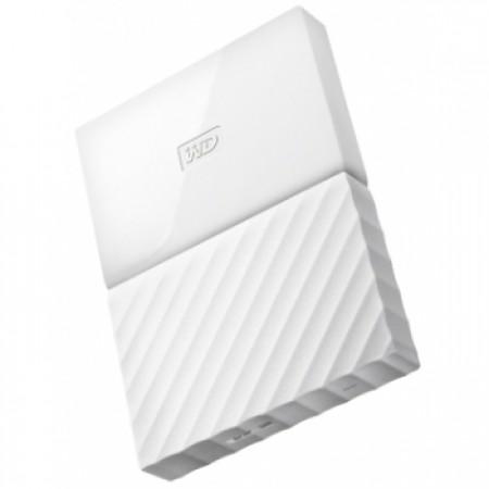 "WD 4TB External HDD My Passport 2.5"" USB 3.0 White"