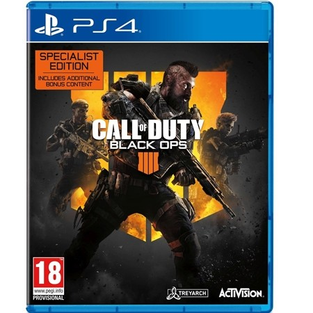Call Of Duty : Black Ops 4 Specialist Edition /PS4