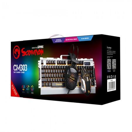 Marvo Gaming Mis, Tastatura i Slusalice Set CM303
