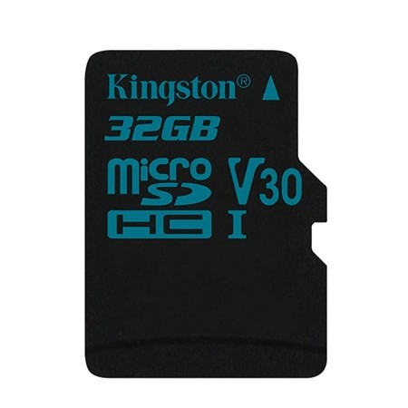 Kingston MicroSD Canvas Go Memory Card 32GB Class10 UHS-I U3