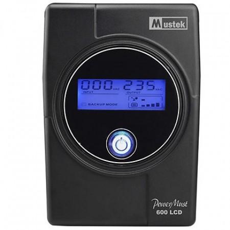 Mustek PowerMust 600LCD Line Interactive UPS IEC