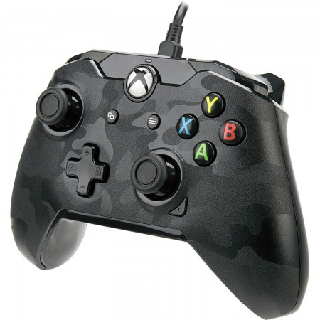 PDP Wired Controller for Xbox One / PC- Black Camo